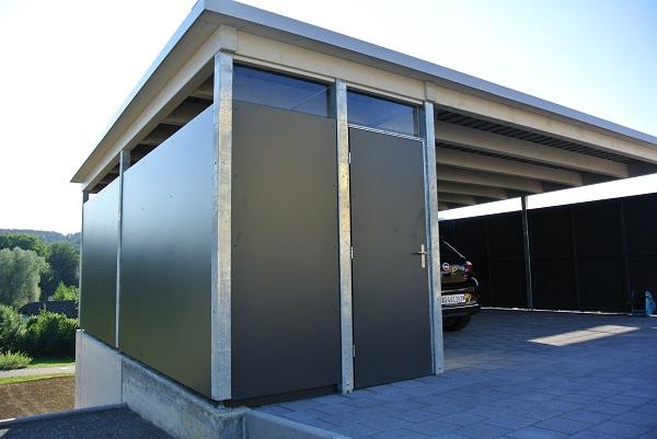 carport wandverkleidung holz. Black Bedroom Furniture Sets. Home Design Ideas